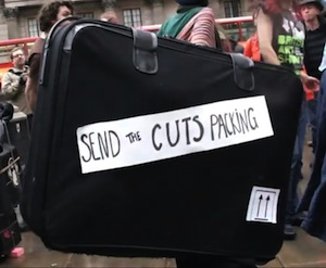 Send the cuts packing